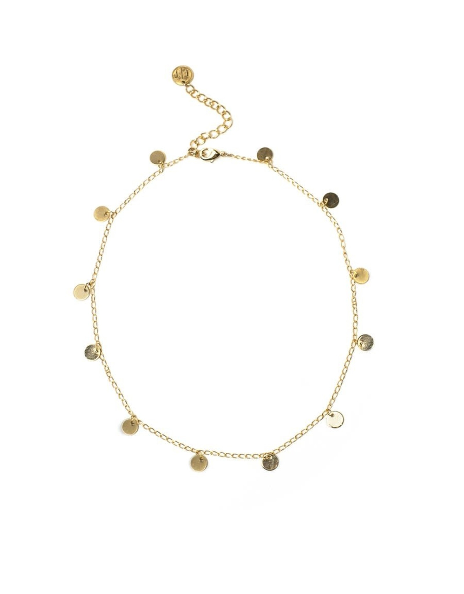 Lover's tempo Collier - Fool's Choker - Plaqué or