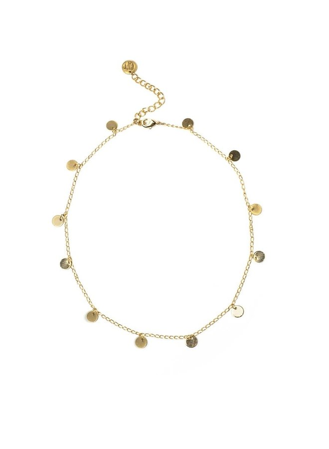 Collier - Fool's Choker - Plaqué or