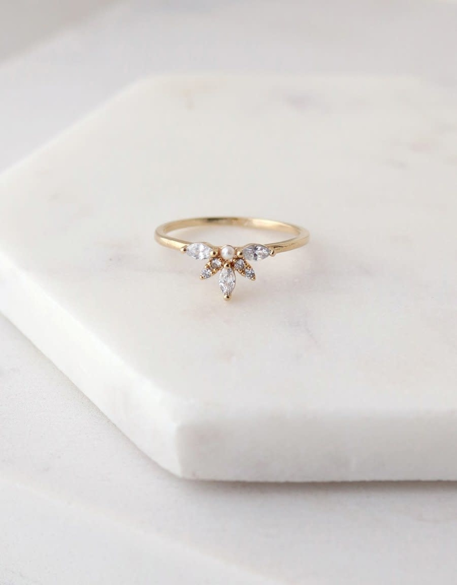 Lover's tempo Bague - Harlowe or taille 7
