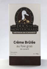Duc de montrichard Crème Brûlée au foie gras