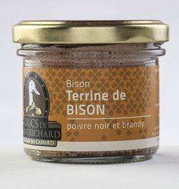 Duc de montrichard Terrine de Bison Poivre noir & Brandy