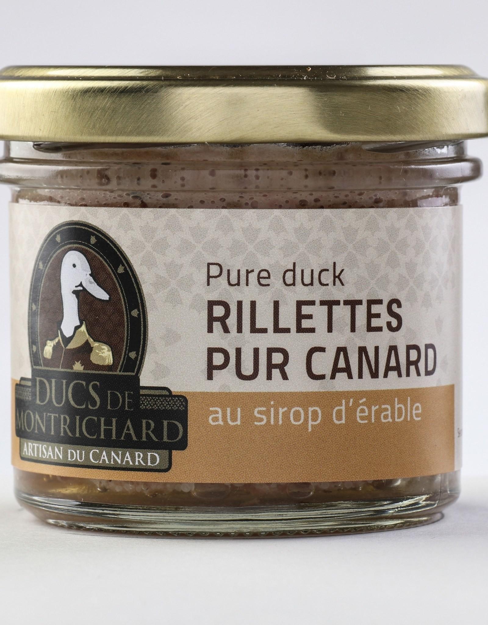 Duc de montrichard Rillettes de canard au Sirop d'érable