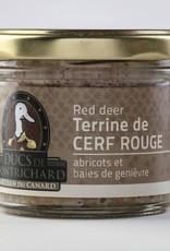 Duc de montrichard Terrine de cerf Abricots & Baies de genièvre