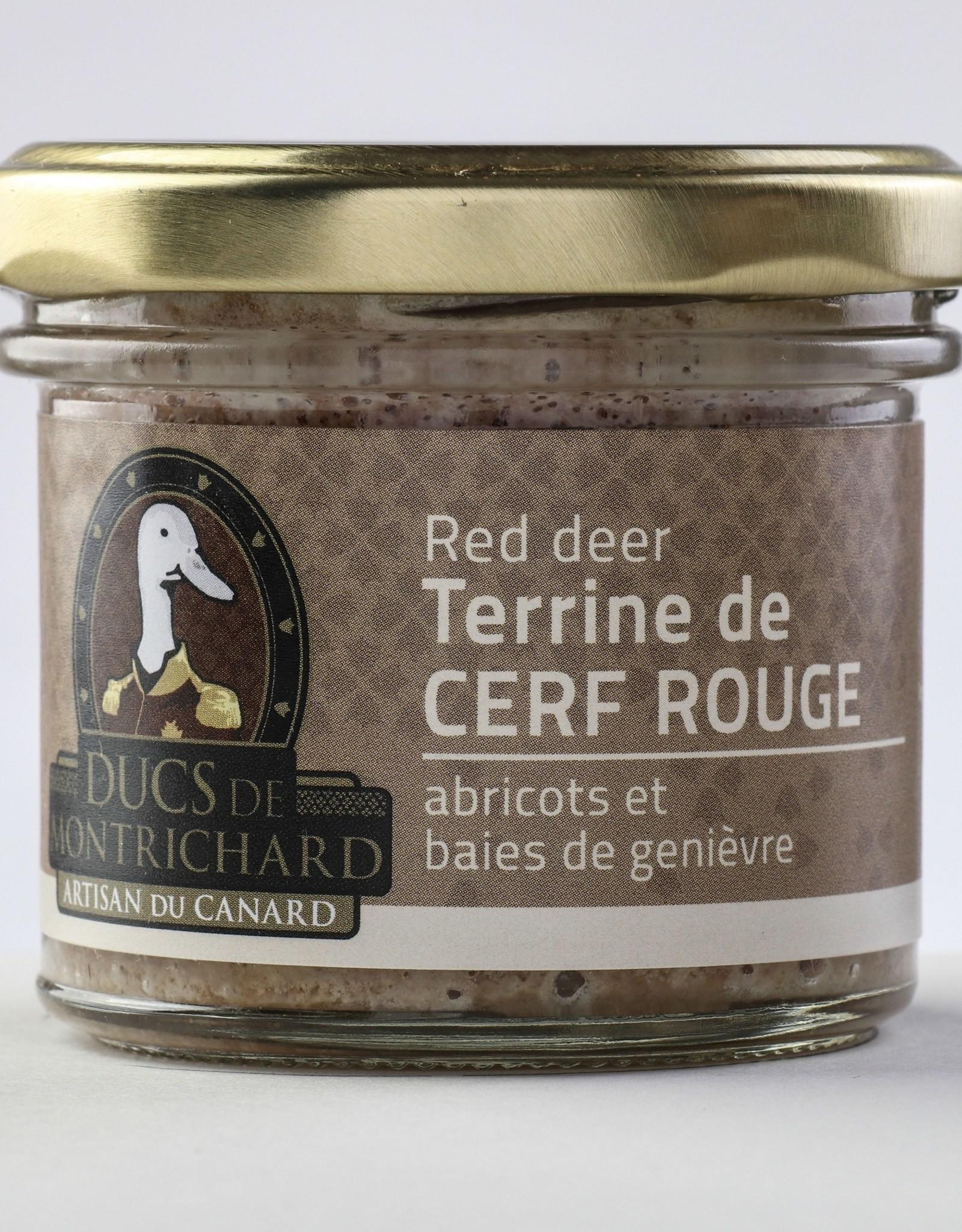Terrine de cerf - Abricots & Baies de genièvre
