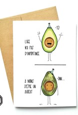 Made in Happy Carte de souhait - Âge avocat