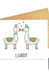 Made in Happy Carte de souhait - Llamour