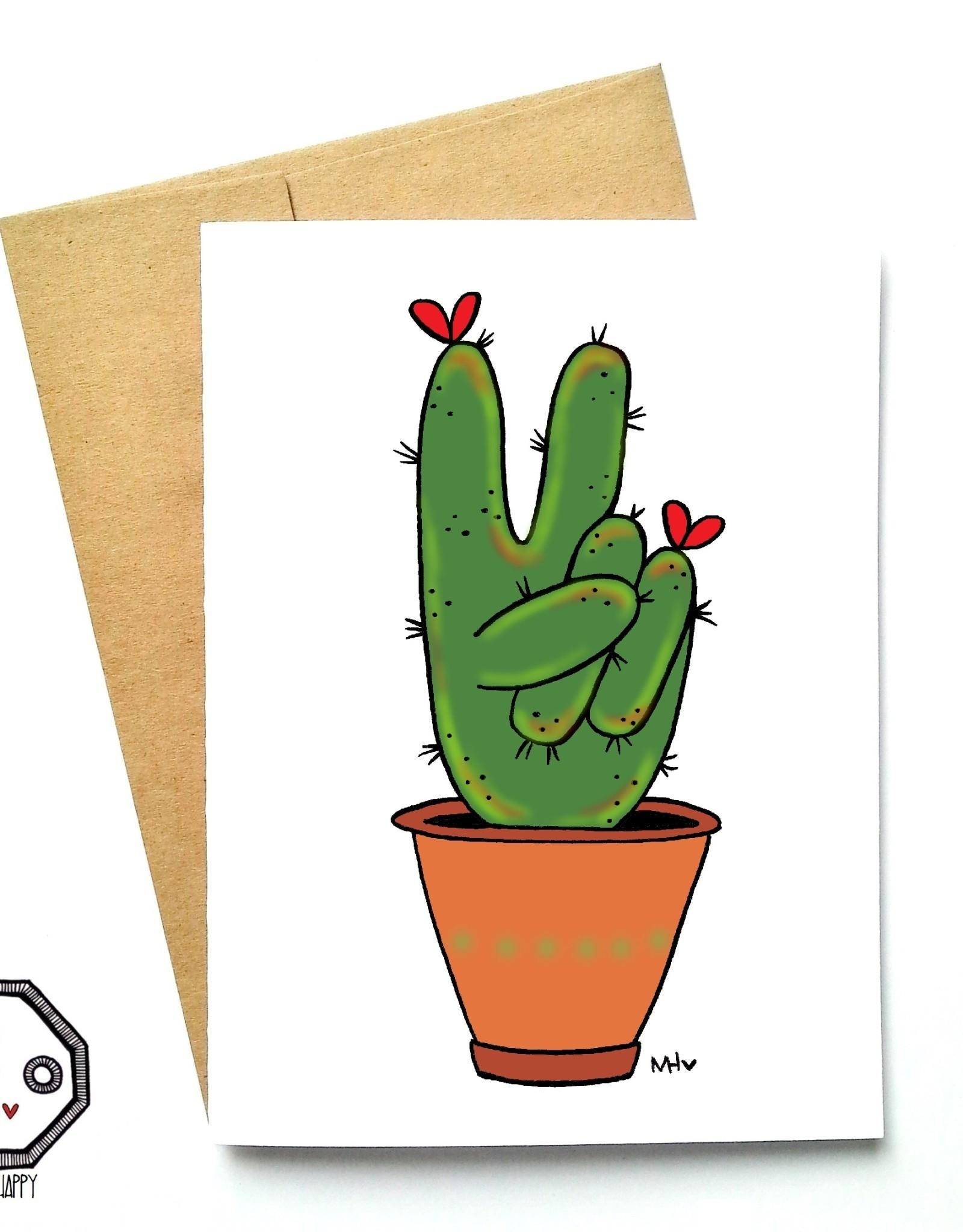 Made in Happy Carte de souhait - Cactus