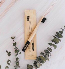 Bkind Brosse à dents en bambou pour enfants