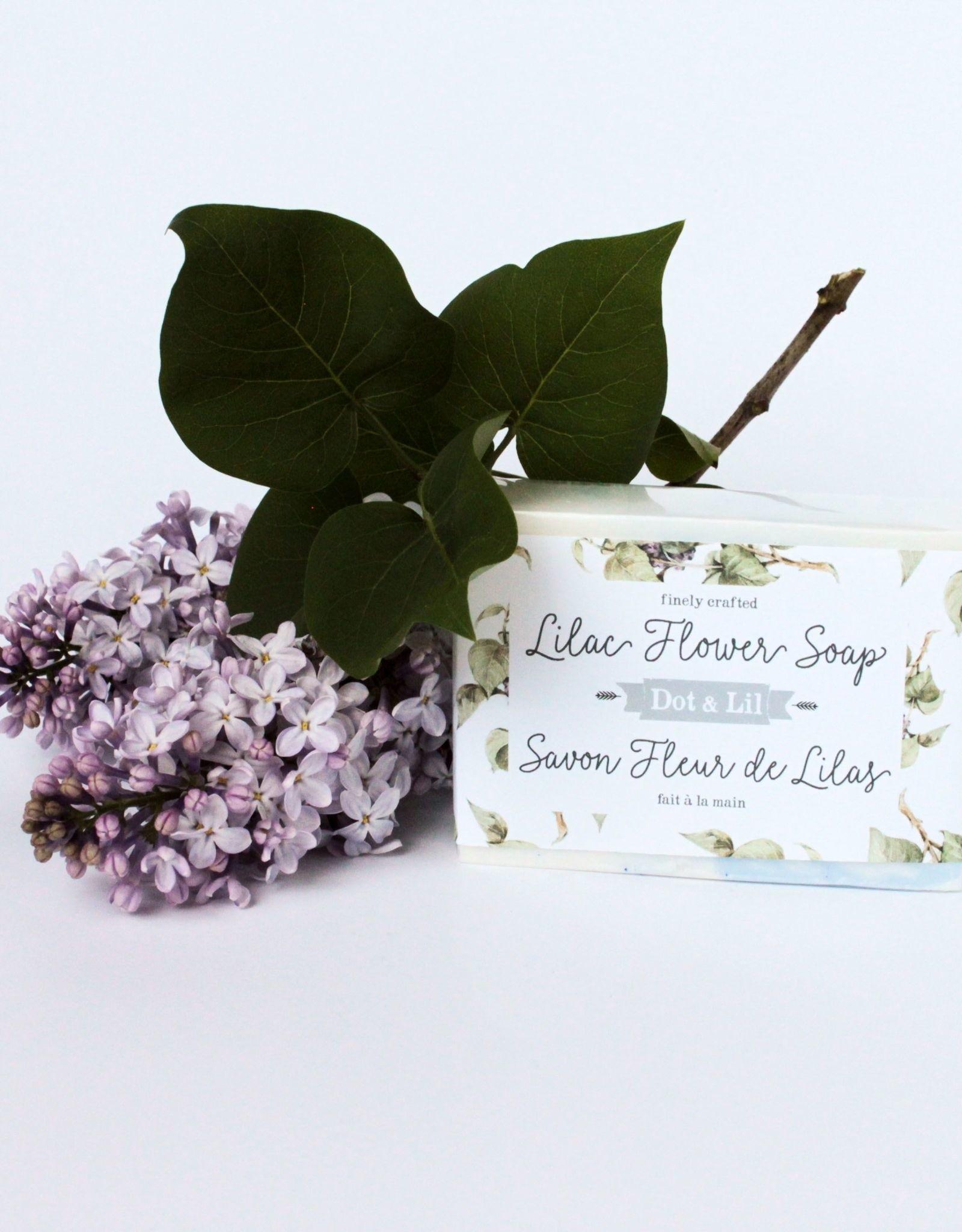Dot & lil Pain de savon - Fleurs de Lilas