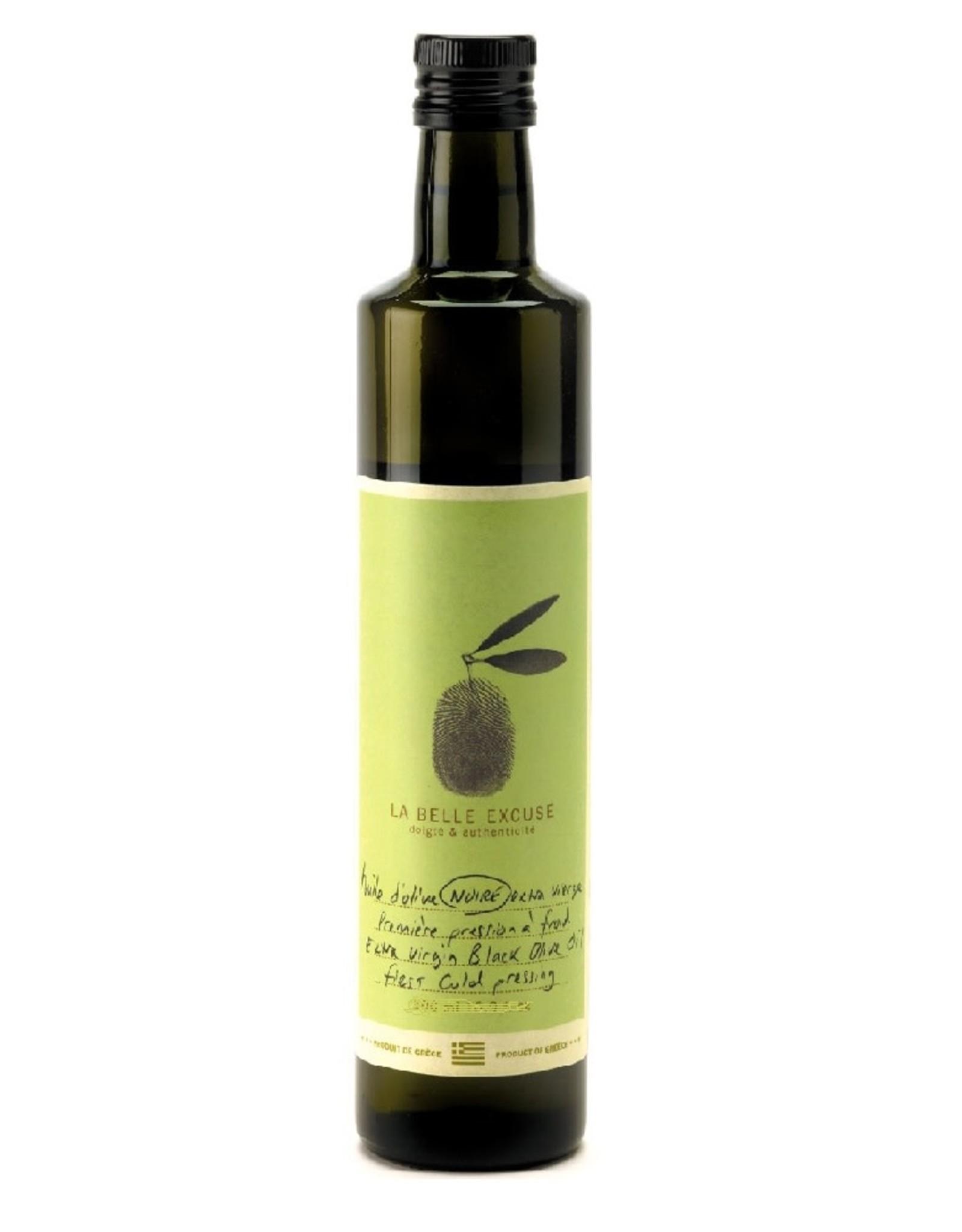 LA BELLE EXCUSE Huile d'olive Noire 250ML