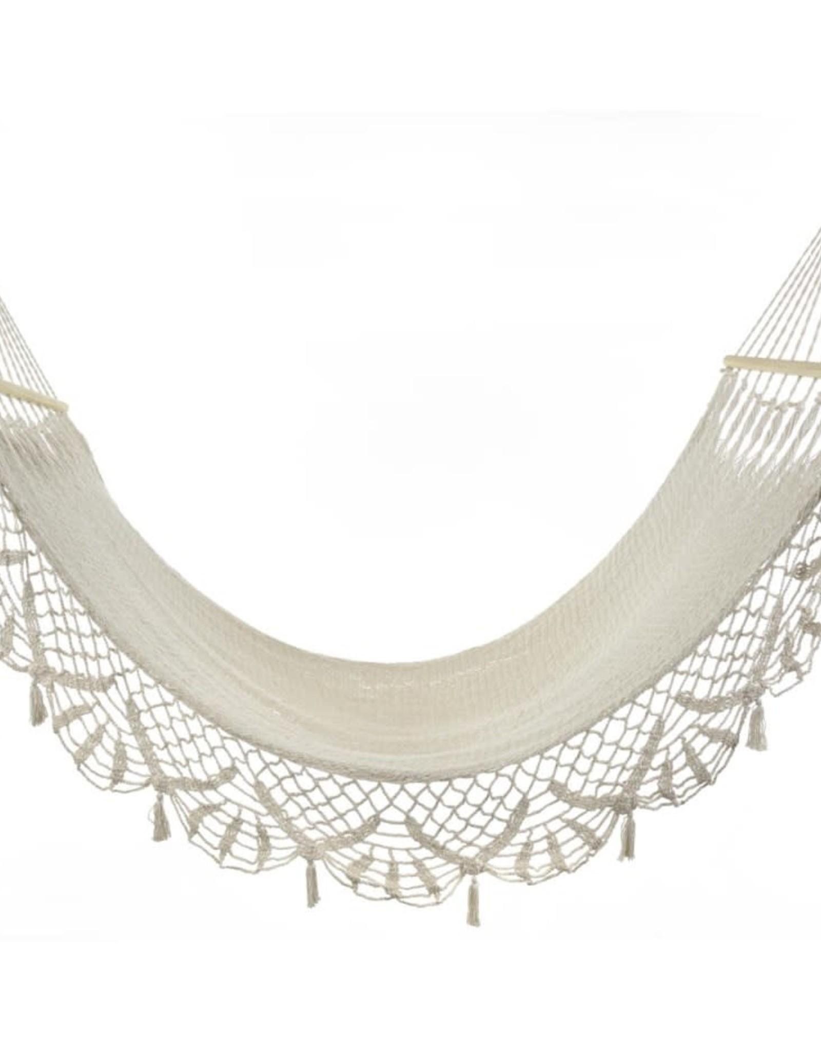 Hamac - Coton tressé ivoire