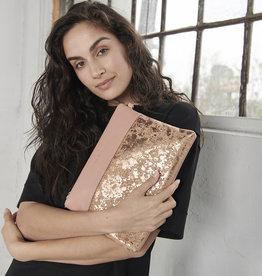 Pixie mood Sac bandoulière - Nicole large rose métallique