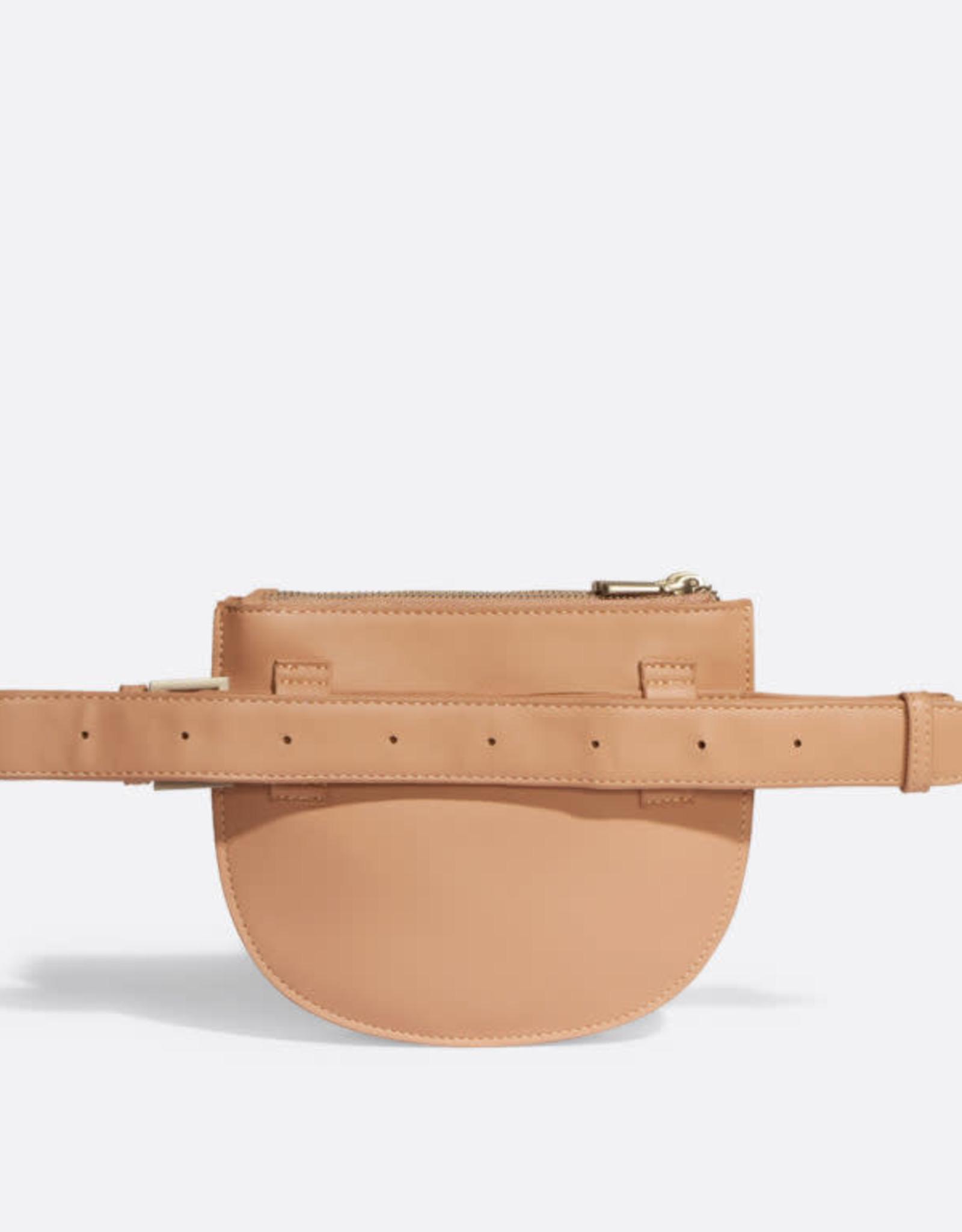 Pixie mood - Sac de taille - 3 compartiments Abricot