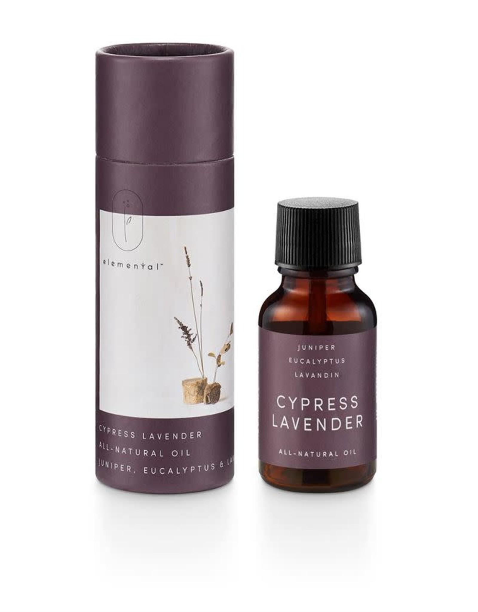 Huile parfumée - Cyprès et lavande