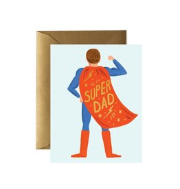 Rifle paper co. Carte de souhait - SUPER DAD