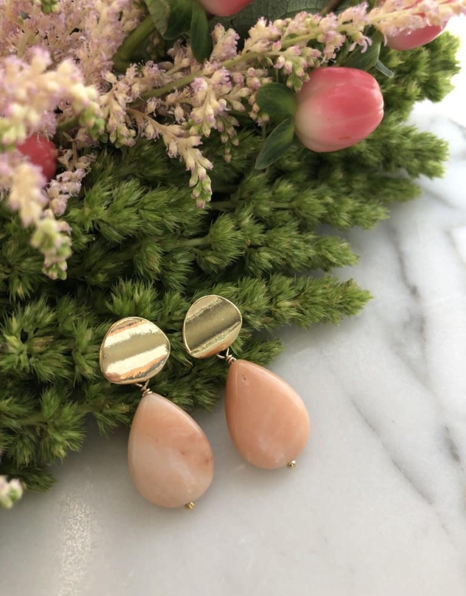 Flora Ciccarelli Boucles d'oreilles 1.25'' - Opale rose