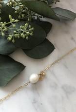 Flora Ciccarelli Bracelet avec grande perle, étoile et boule (219-003)