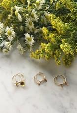 Flora Ciccarelli Anneaux 15mm en gold-filled avec breloques assorties (118-102)