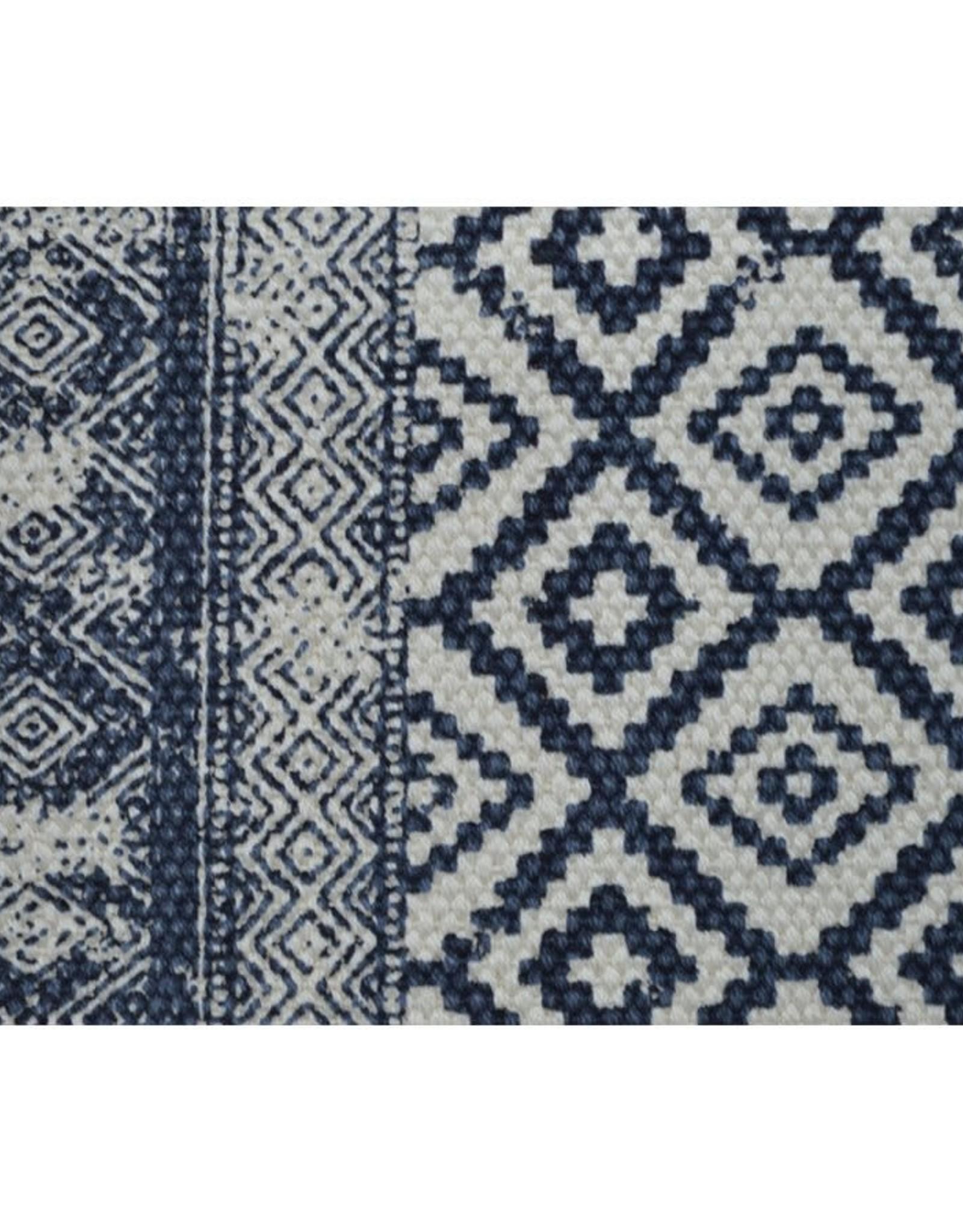 Tapis 3x5 - Slavia bleu naturel