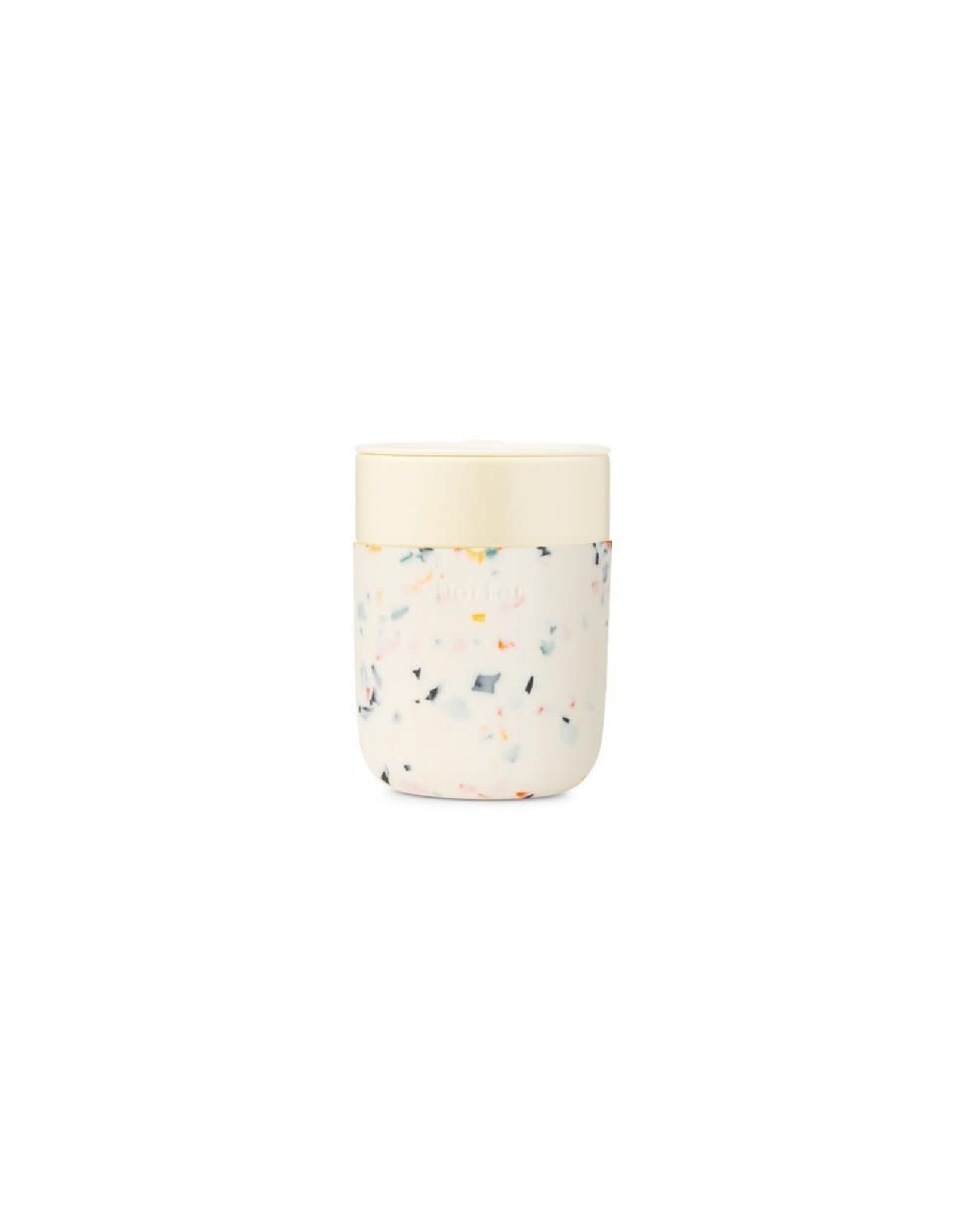 Tasse réutilisable 12 oz - Terrazzo crème