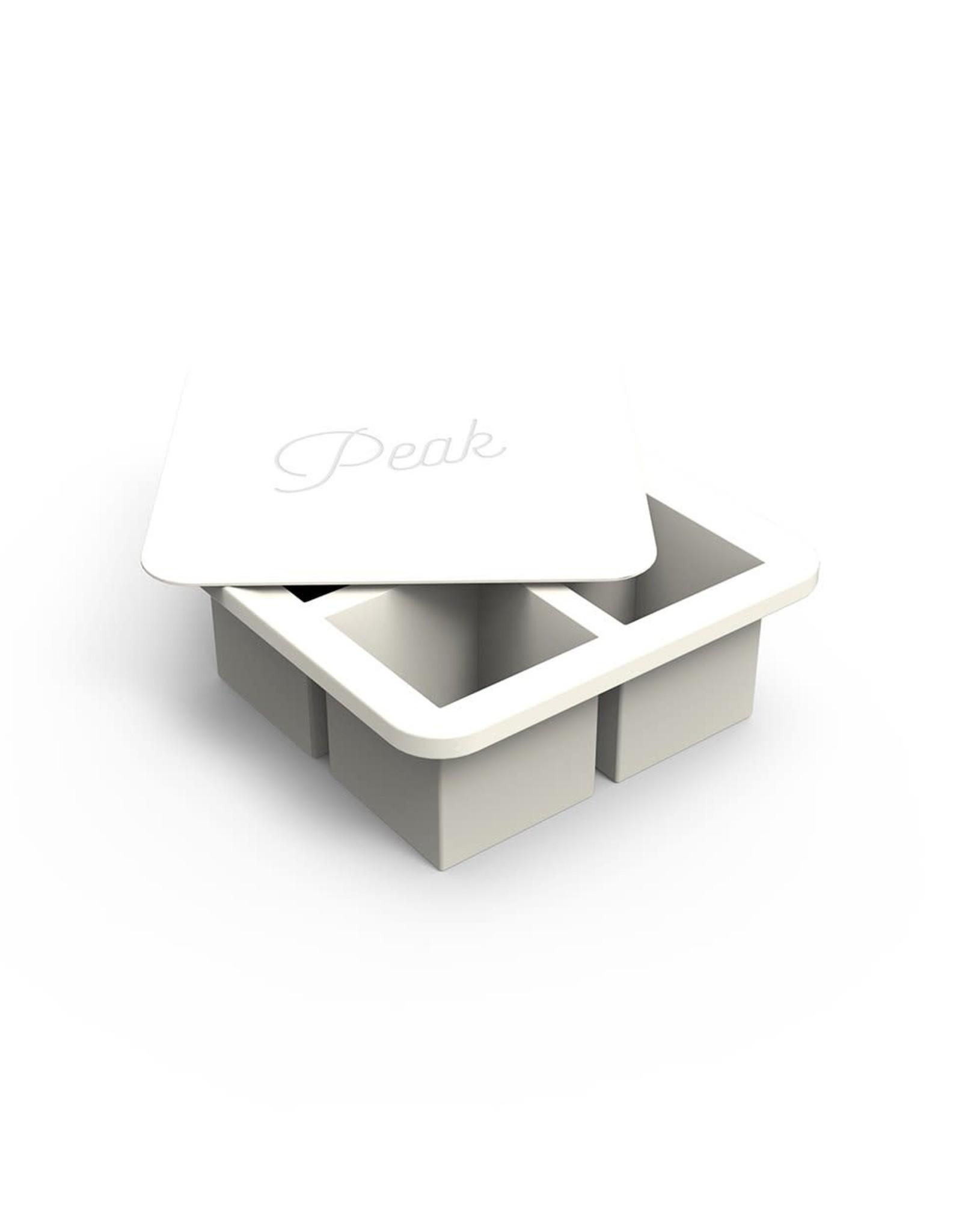 Moule à glaçons blanc - Grands cubes