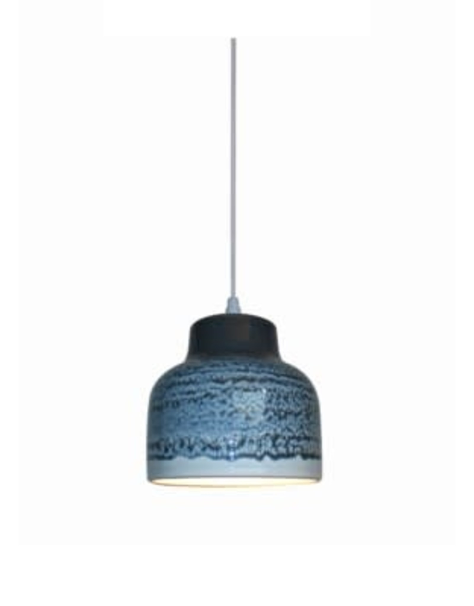 Lampe suspendue - Skala bleu