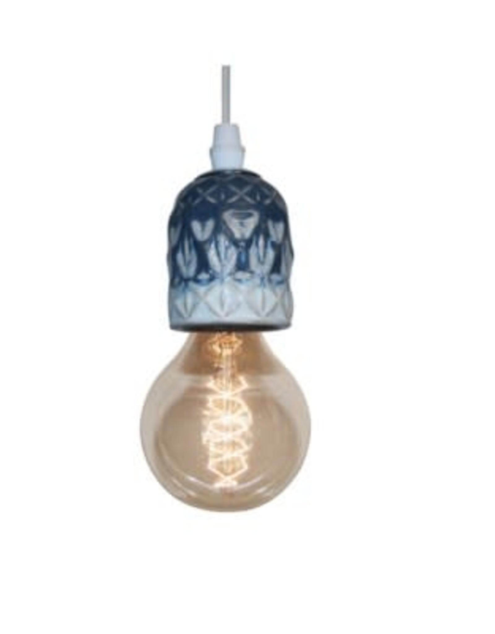 Lampe suspendue - Egis bleu