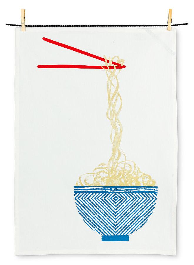 Linge à vaisselle - Bol de nouilles
