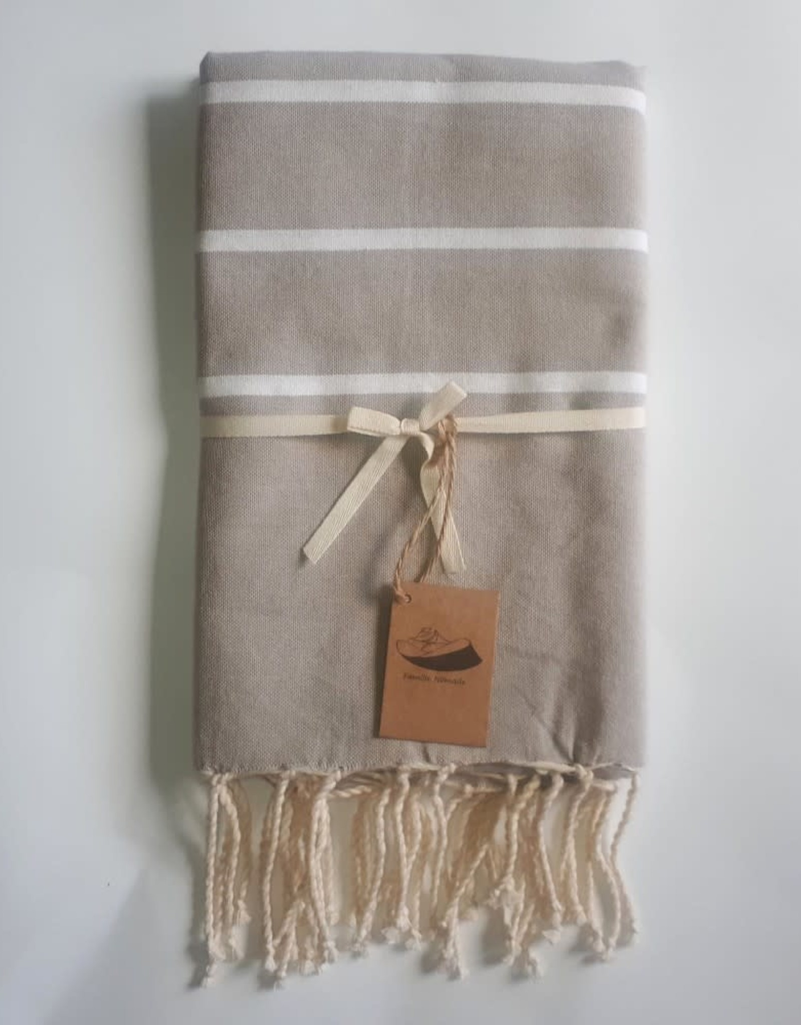 Famille Nomade - Fouta Nome - Tissage plat