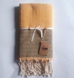 Famille Nomade - Fouta Balaton - Tissage nid d'abeille