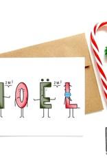 Made in Happy Carte de souhait - Noël à 2 mètres