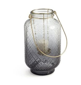 Lanterne - Verre gris