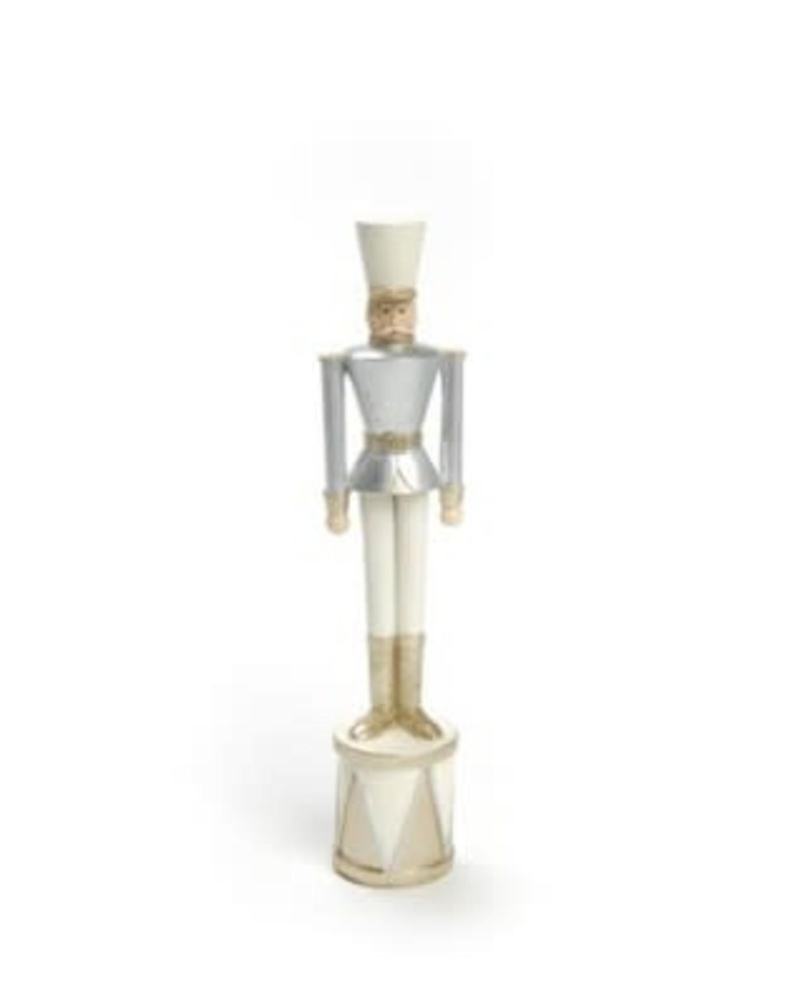 Soldat tambour - Gris & blanc - Petit