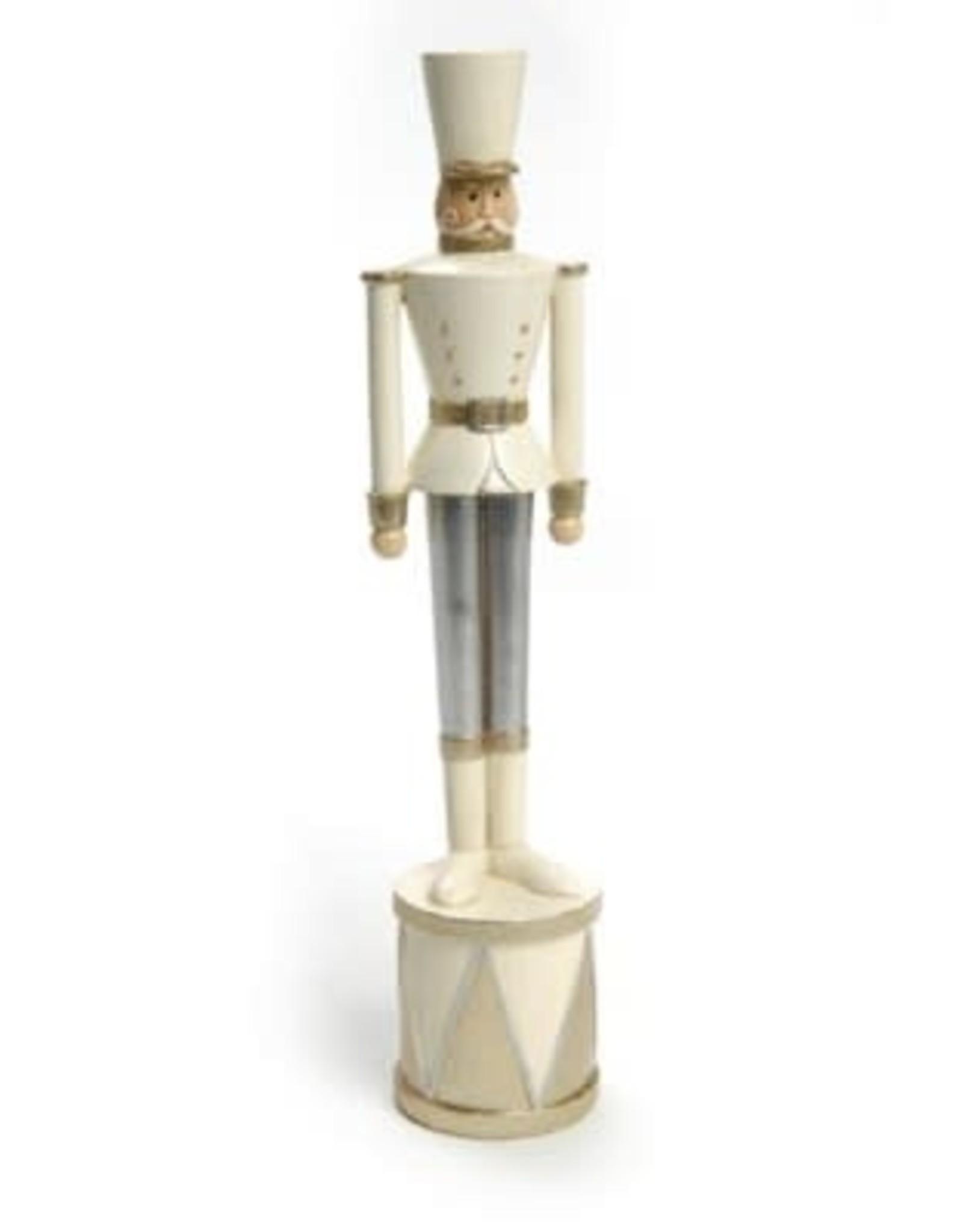 Soldat tambour - Gris & blanc - Grand