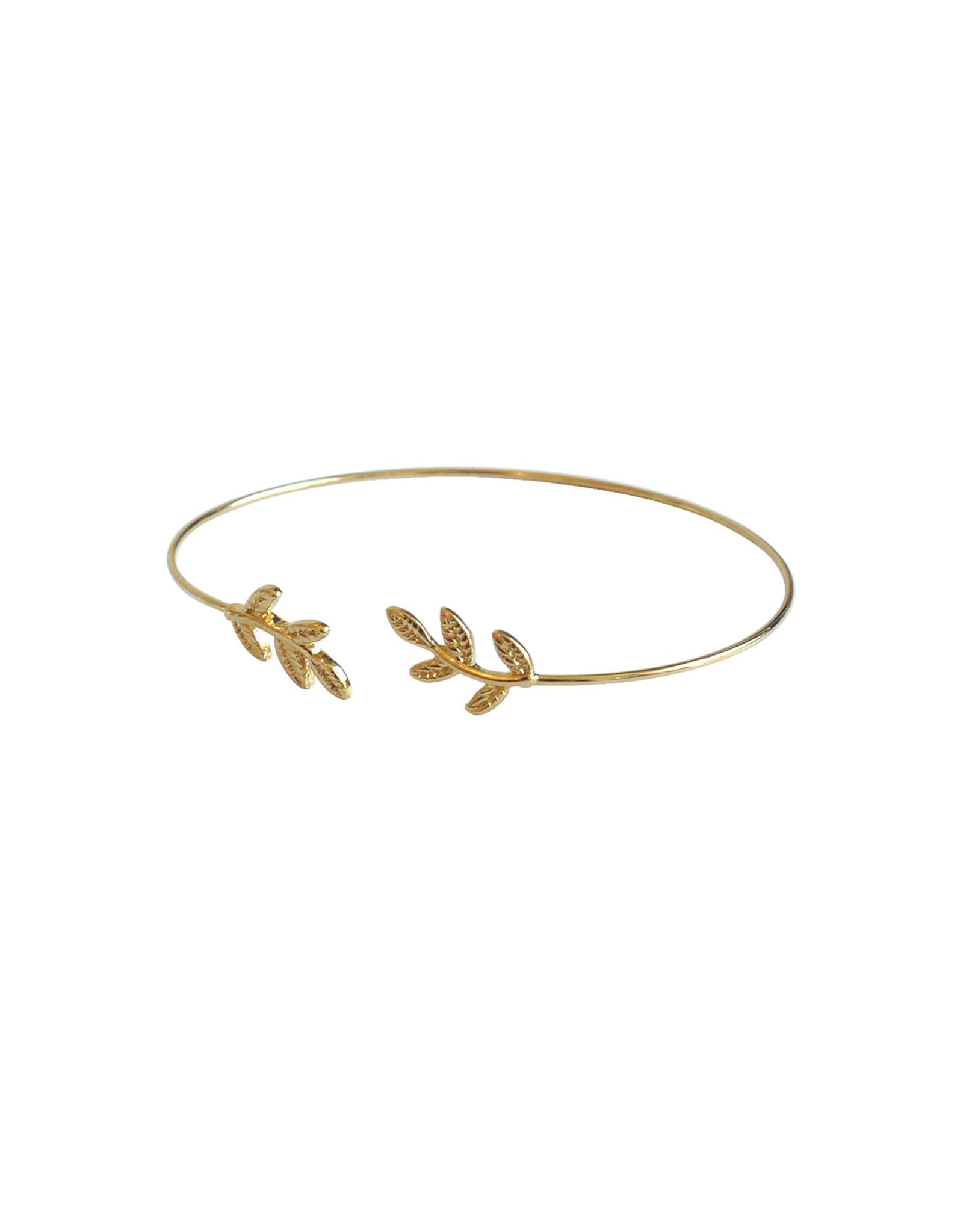 Lost & Faune Bracelet rigide - Branche - Or