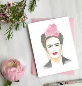 Carte de souhait - Frida