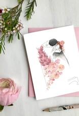 Carte de souhaits - Klimt le baiser