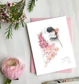 Carte de souhait - Klimt Le baiser