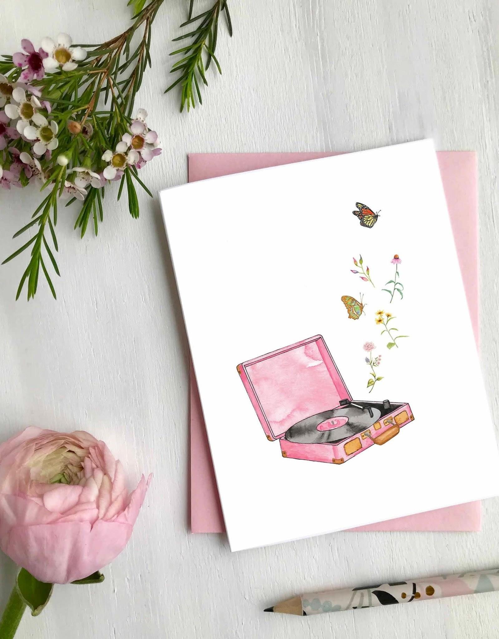 Carte de souhaits - Papillons