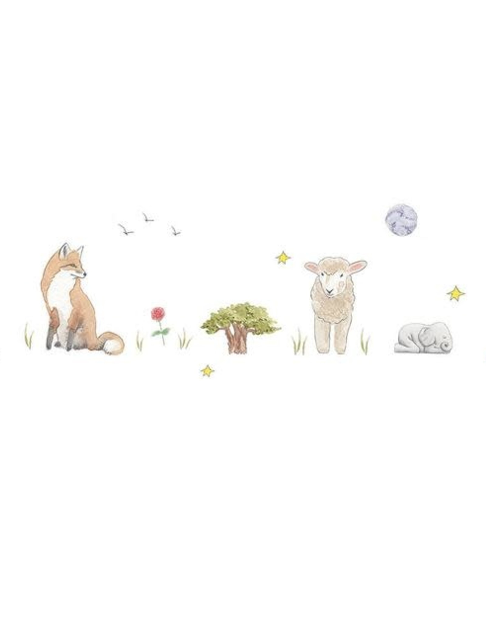 Carte de souhait - Le petit prince