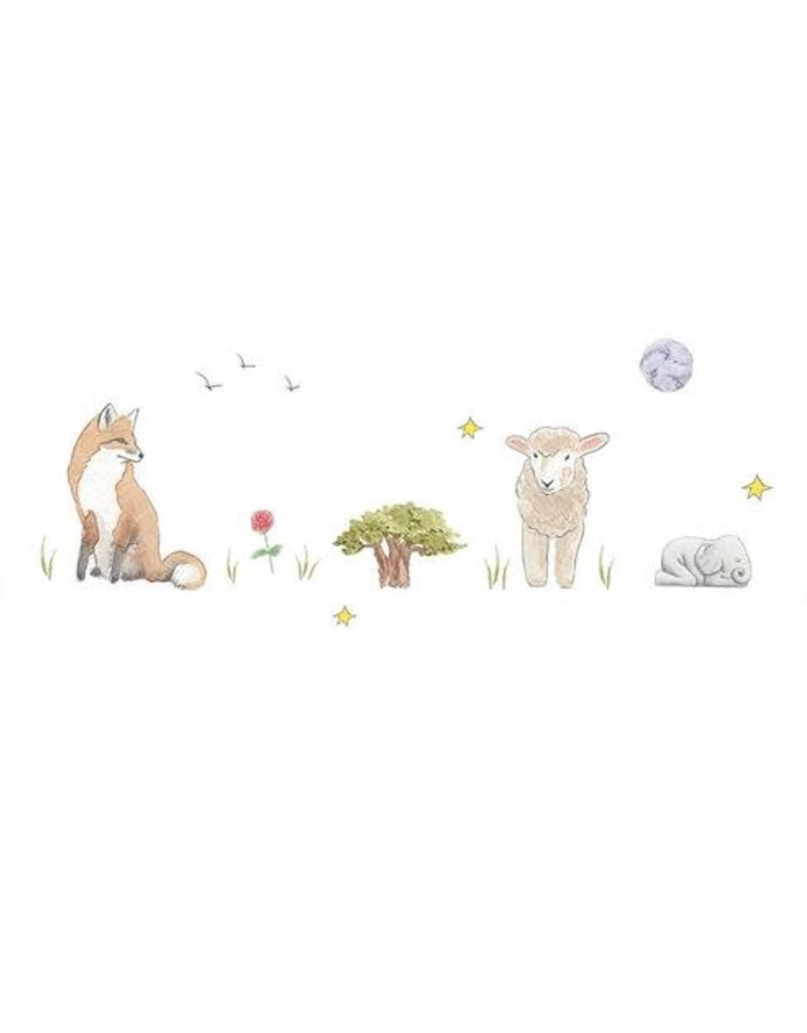 Carte de souhaits - Le petit prince