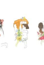 Affiche 8x10 - Trilogie Klimt