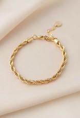 Lover's tempo Bracelet SLOANE - Or