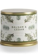 Bougie métal - Balsam & cedar - Grande