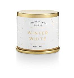 Bougie métal - Winter white - Petite