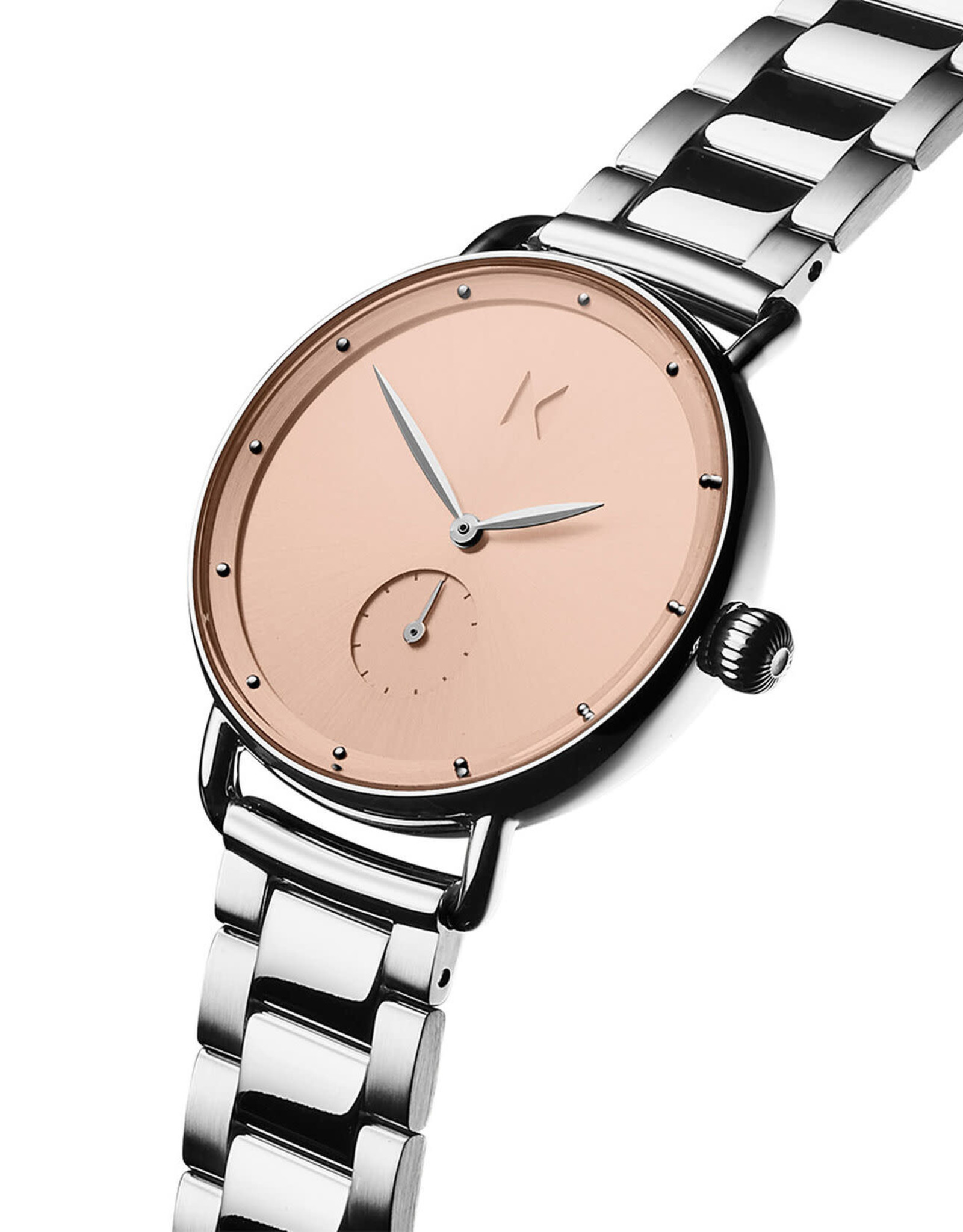 Mvmt Montre DHALIA - Argent & or rose