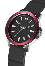Mvmt Montre RED SEA - Noir & rouge
