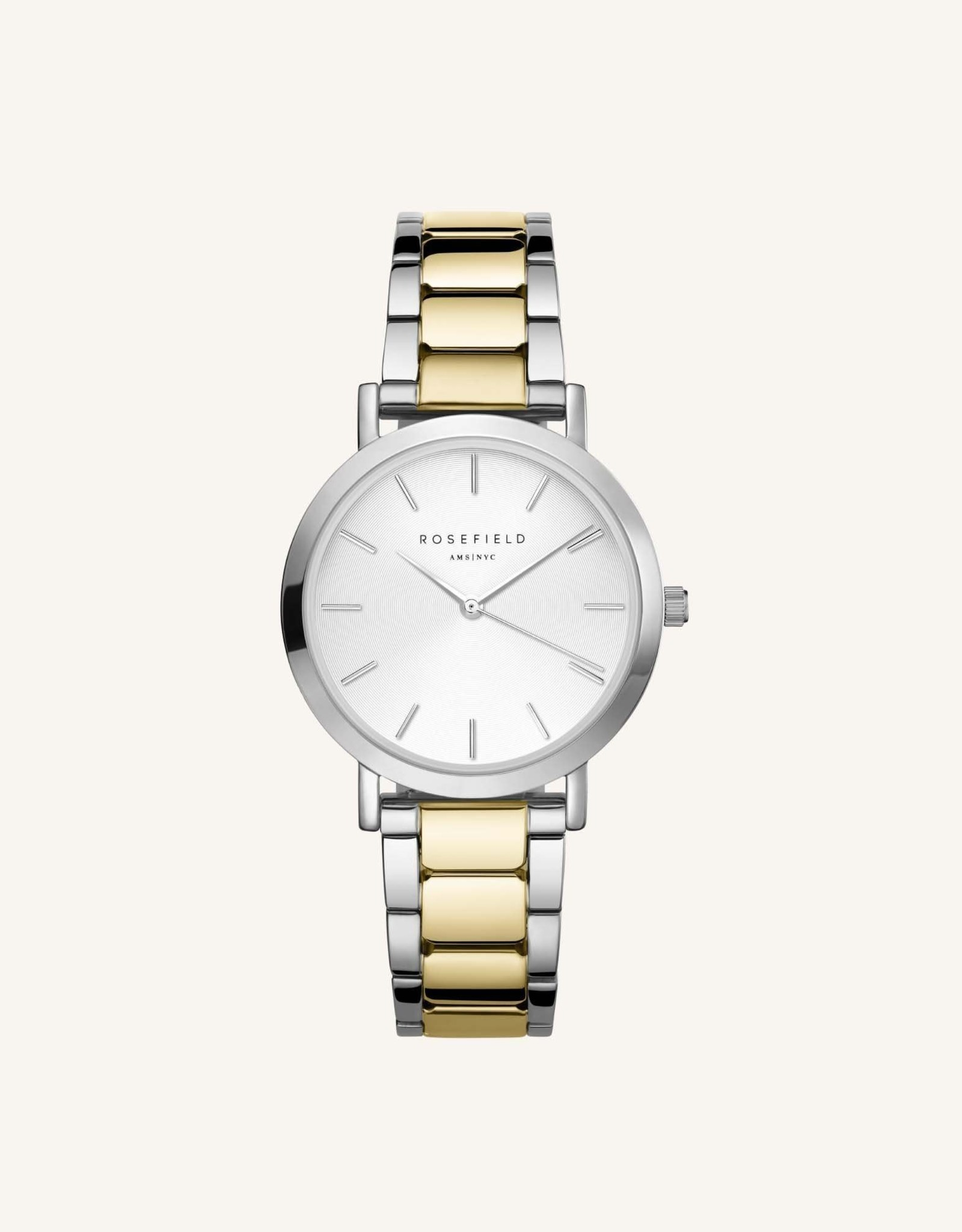 Rosefield Montre The Tribeca - Or & argent