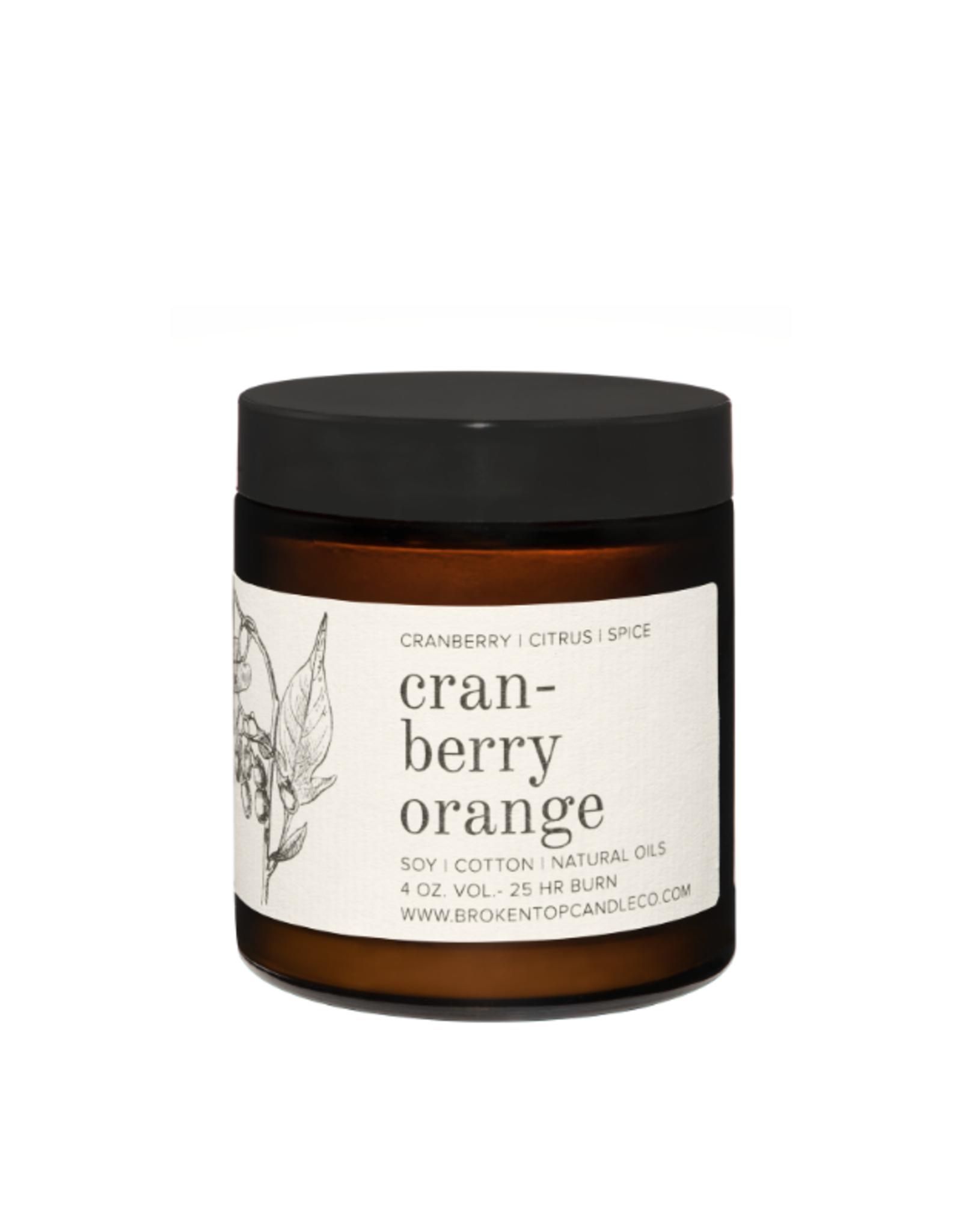 Broken Top Candle Bougie - Cranberry orange - 25h