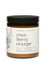 Broken Top Candle Bougie - Cranberry orange - 9oz